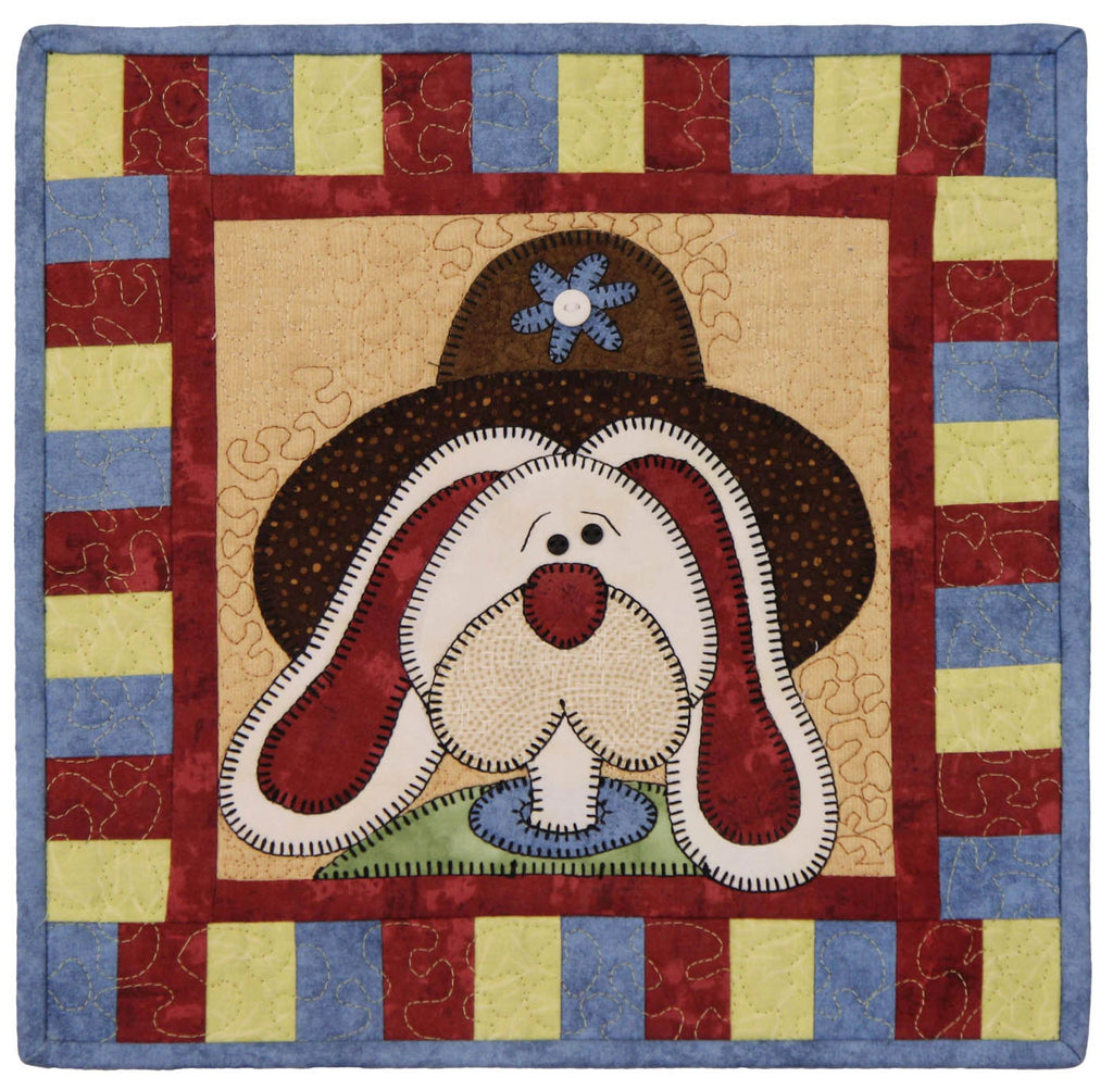April Bunny Little Quilts Squared Mini Quilt Kit