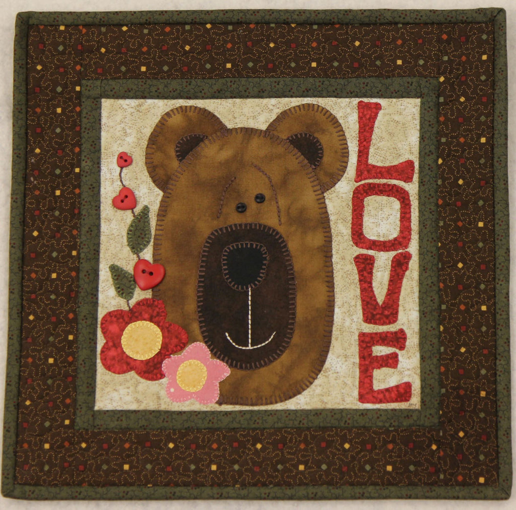 Be My Honey Little Quilts Squared Mini Quilt Kit