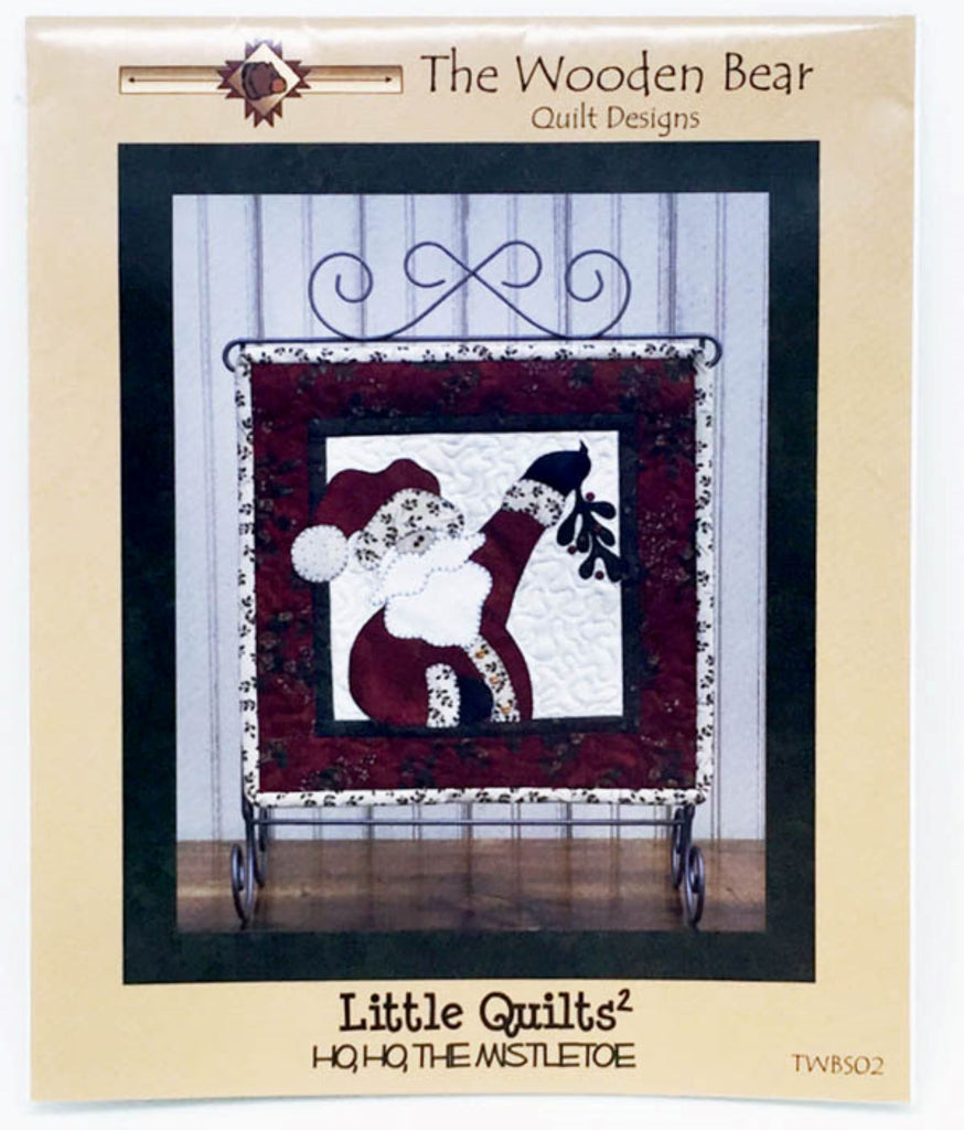 Ho Ho the Mistletoe Little Quilts Squared Mini Quilt Pattern