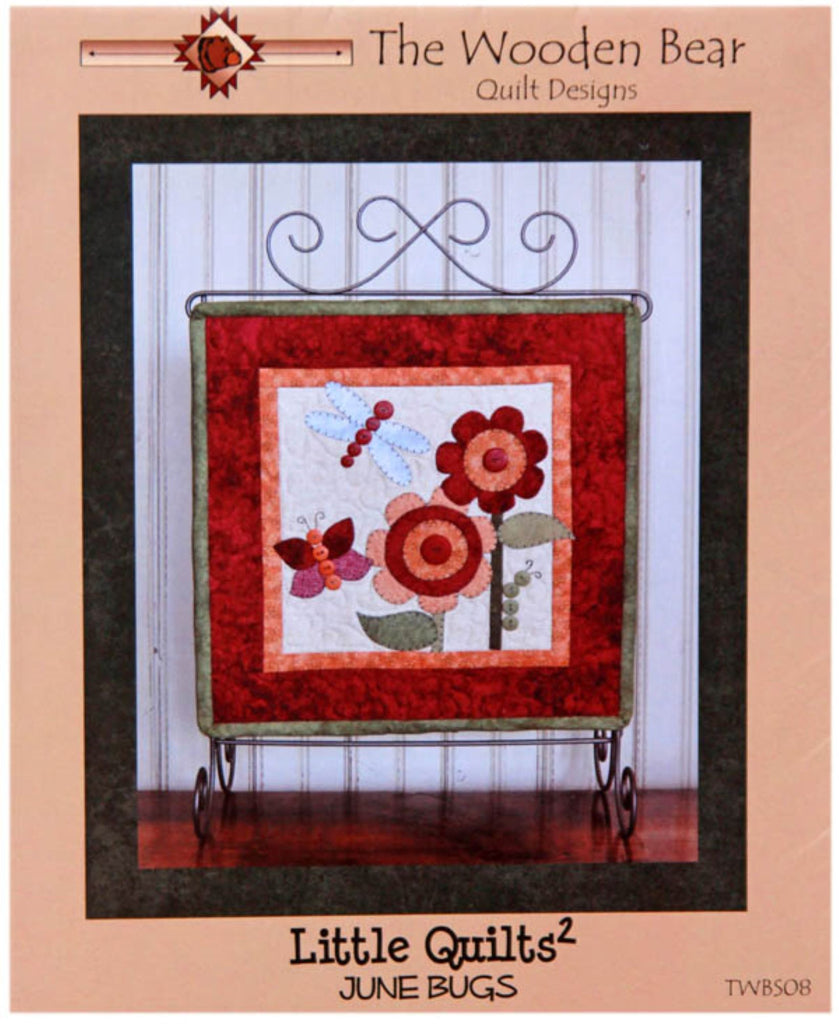 June Bugs Little Quilts Squared Mini Quilt Pattern