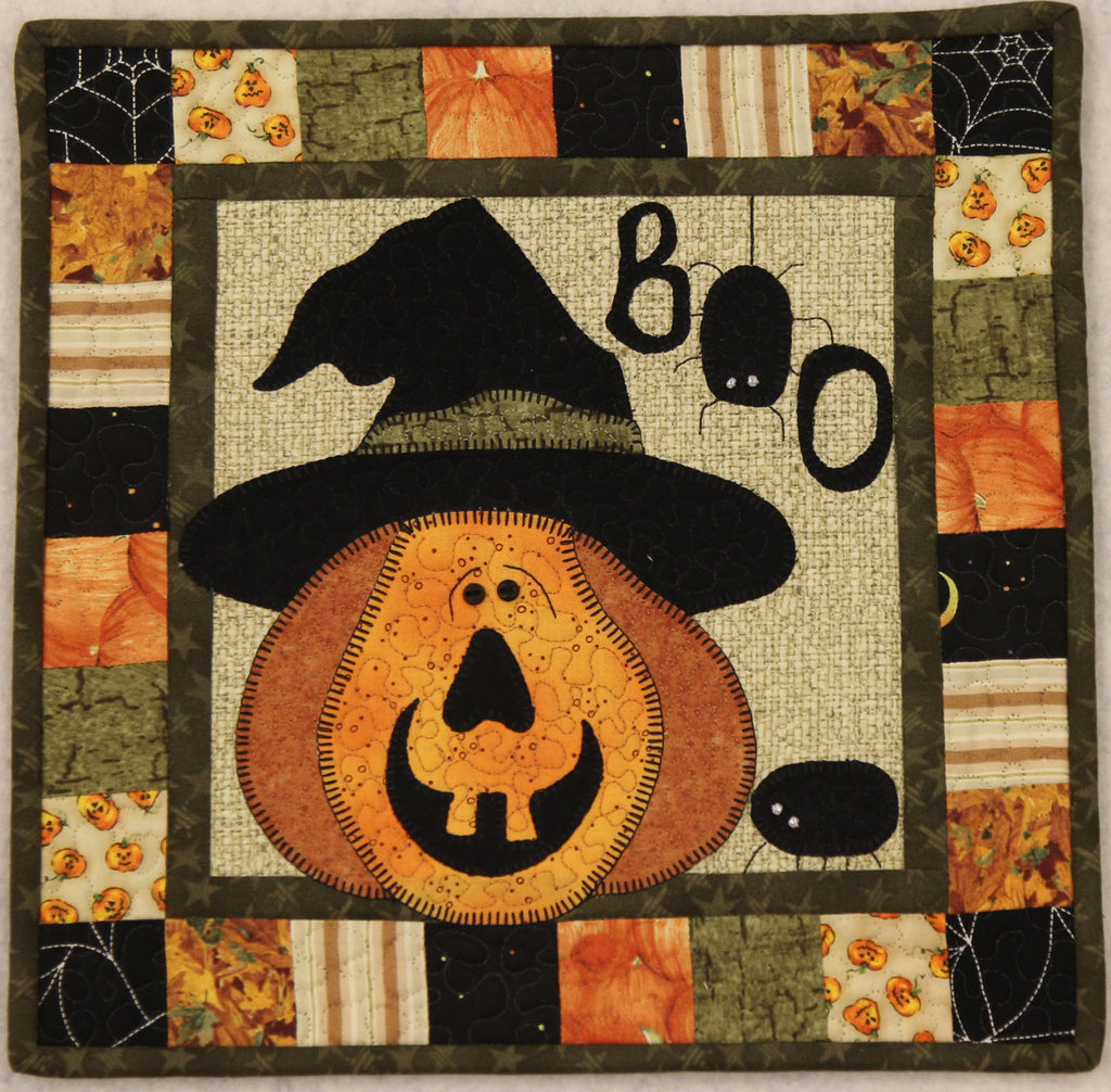 October Scare Little Quilts Squared Mini Quilt Kit