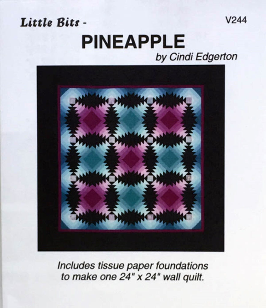 Little Bits Pineapple Mini Quilt Pattern