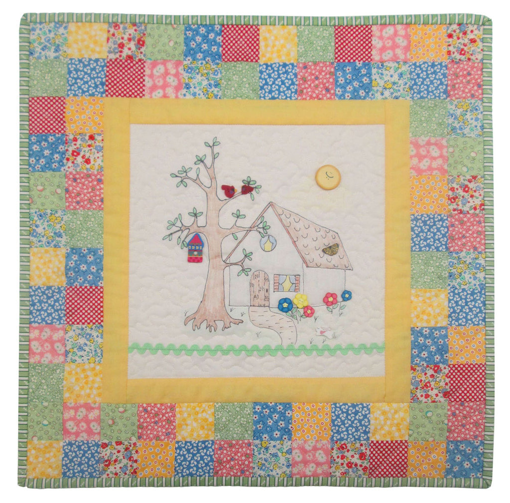 """My Home to Yours"" Mini Quilt Kit"