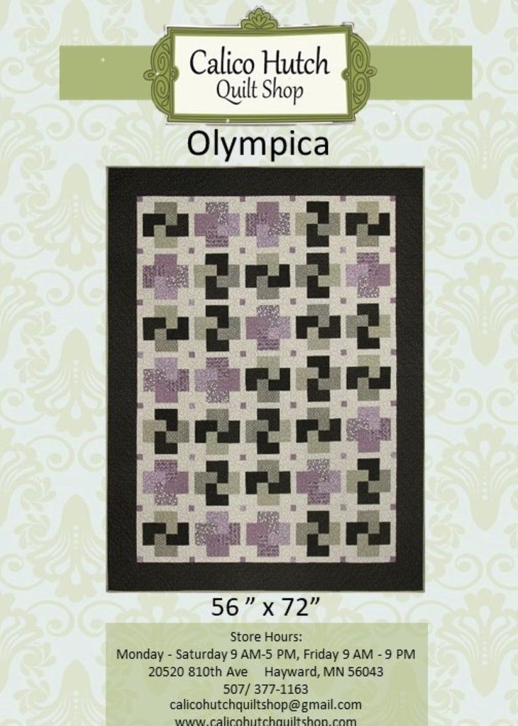 Olympica Quilt Pattern
