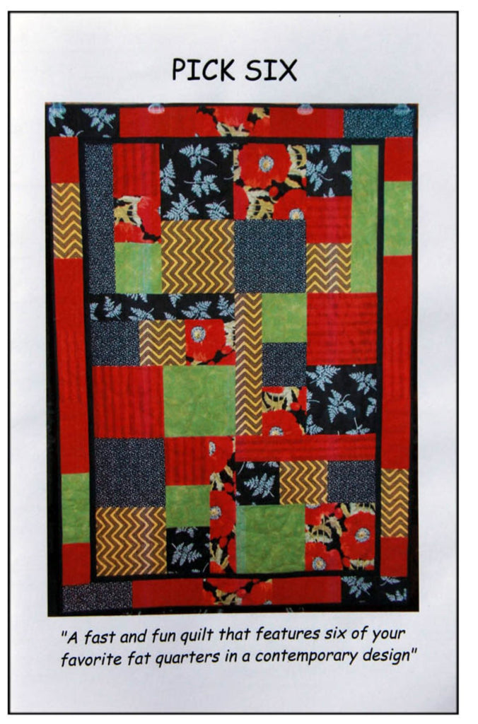 """Pick Six"" Quilt Pattern"