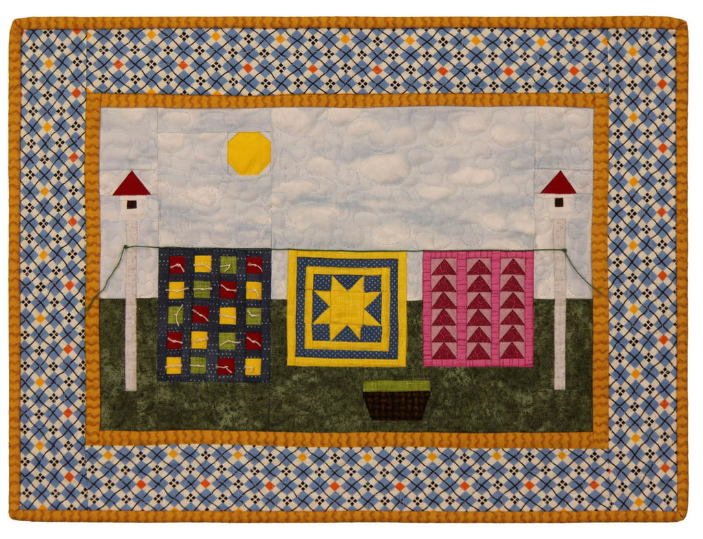 Quilter's Wash Day Mini Quilt Kit