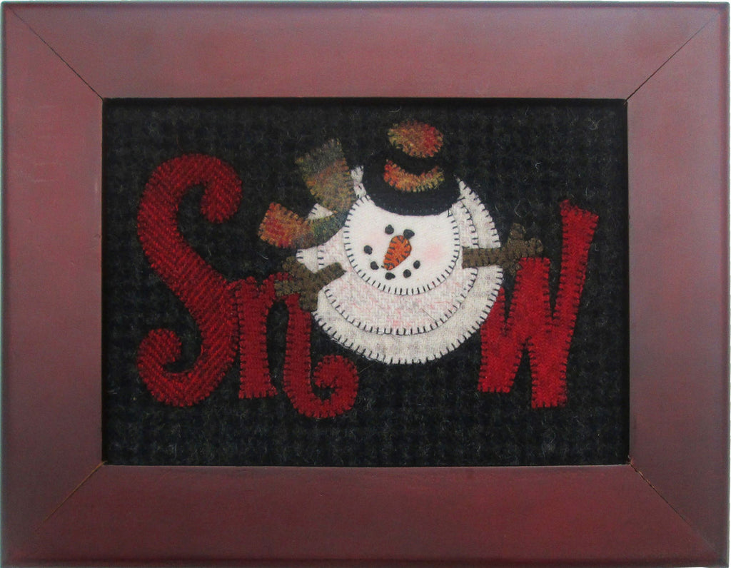 Snow Snowman Wool Kit