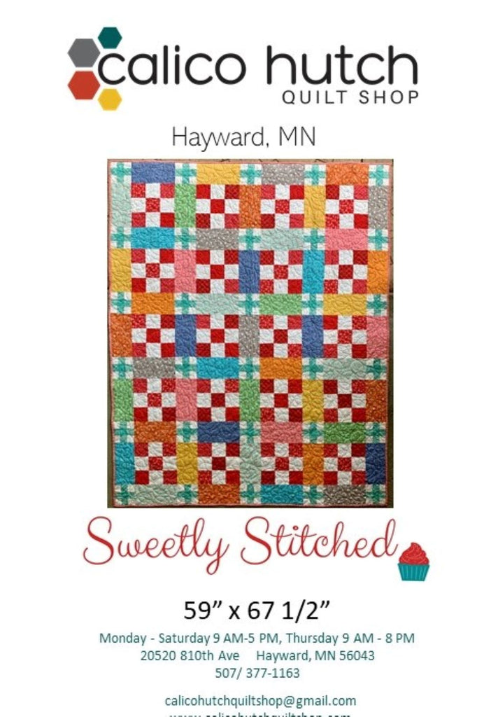 Sweetly Stiched Quilt Pattern