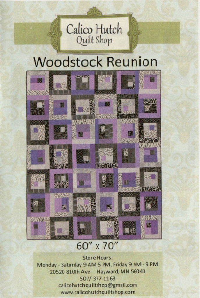 Woodstock Reunion Quilt Pattern