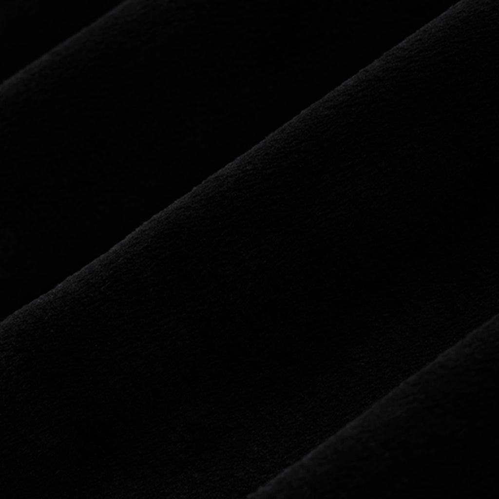 "Black - 60"" Minky Cuddle Fabric"