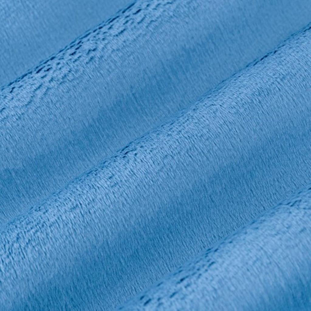 "Blue Bell - 90"" Minky Cuddle Fabric"