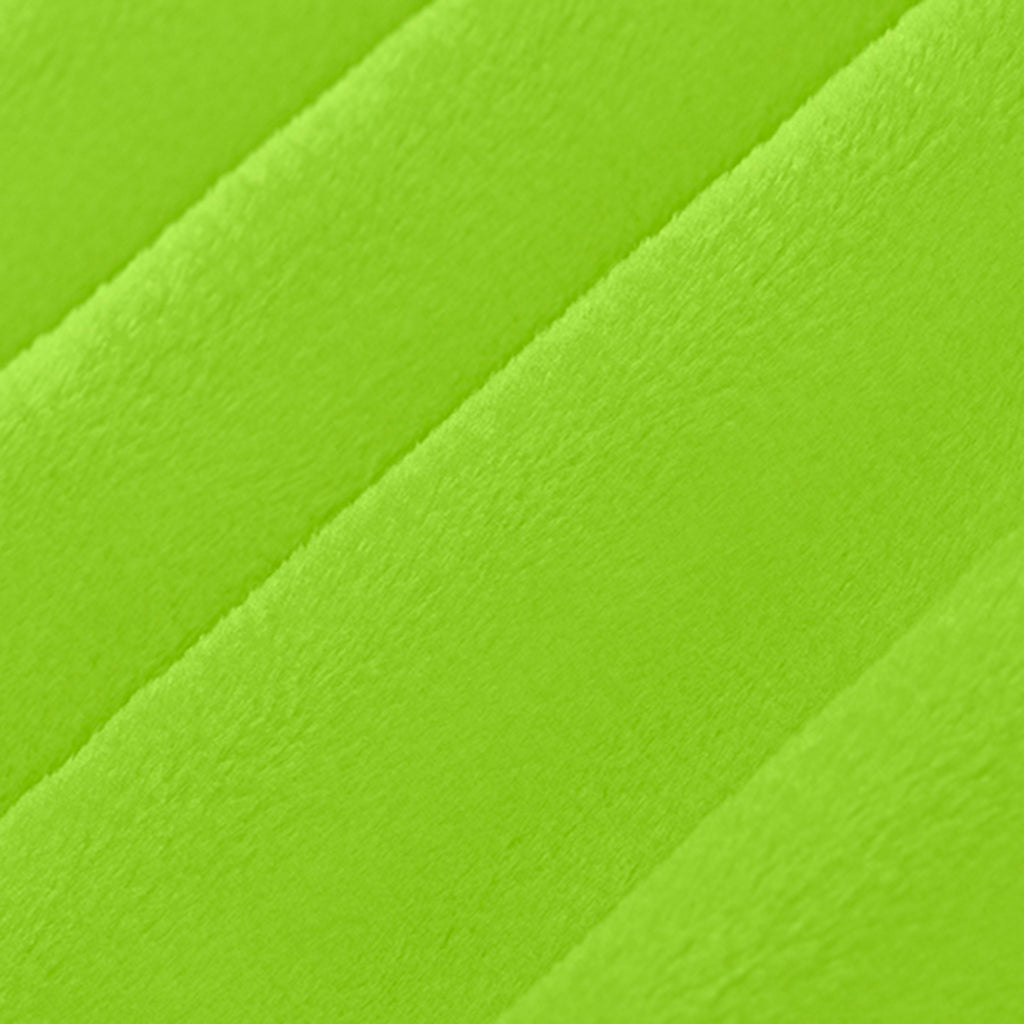 "Dark Lime - 90"" Minky Cuddle Fabric"