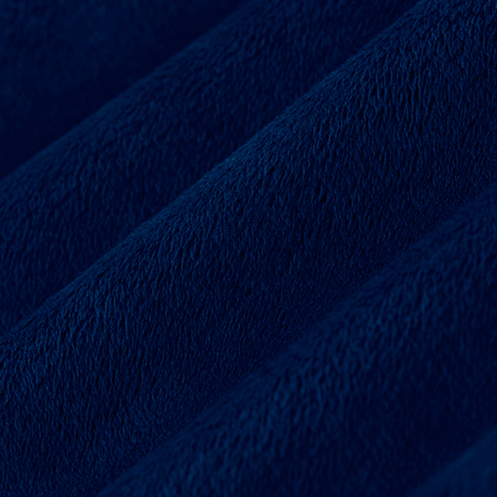 "Navy - 90"" Minky Cuddle Fabric"