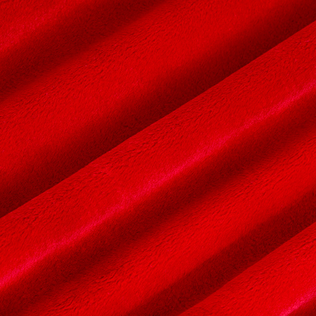 "Scarlet - 90"" Minky Cuddle Fabric"