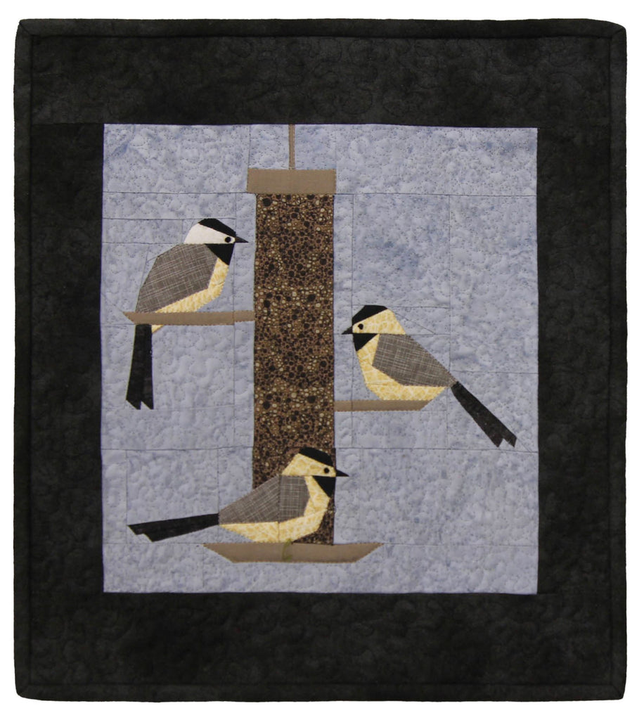 """Chickadee Treat"" Mini Quilt Kit"
