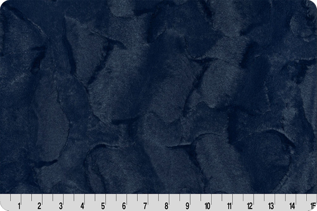 2 Yard Luxe Cuddle Kit - Hide Navy