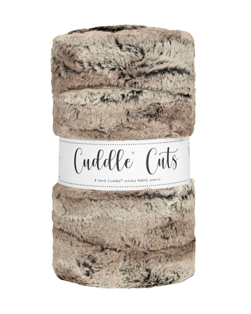 2 Yard Luxe Cuddle Kit - Fox Pewter