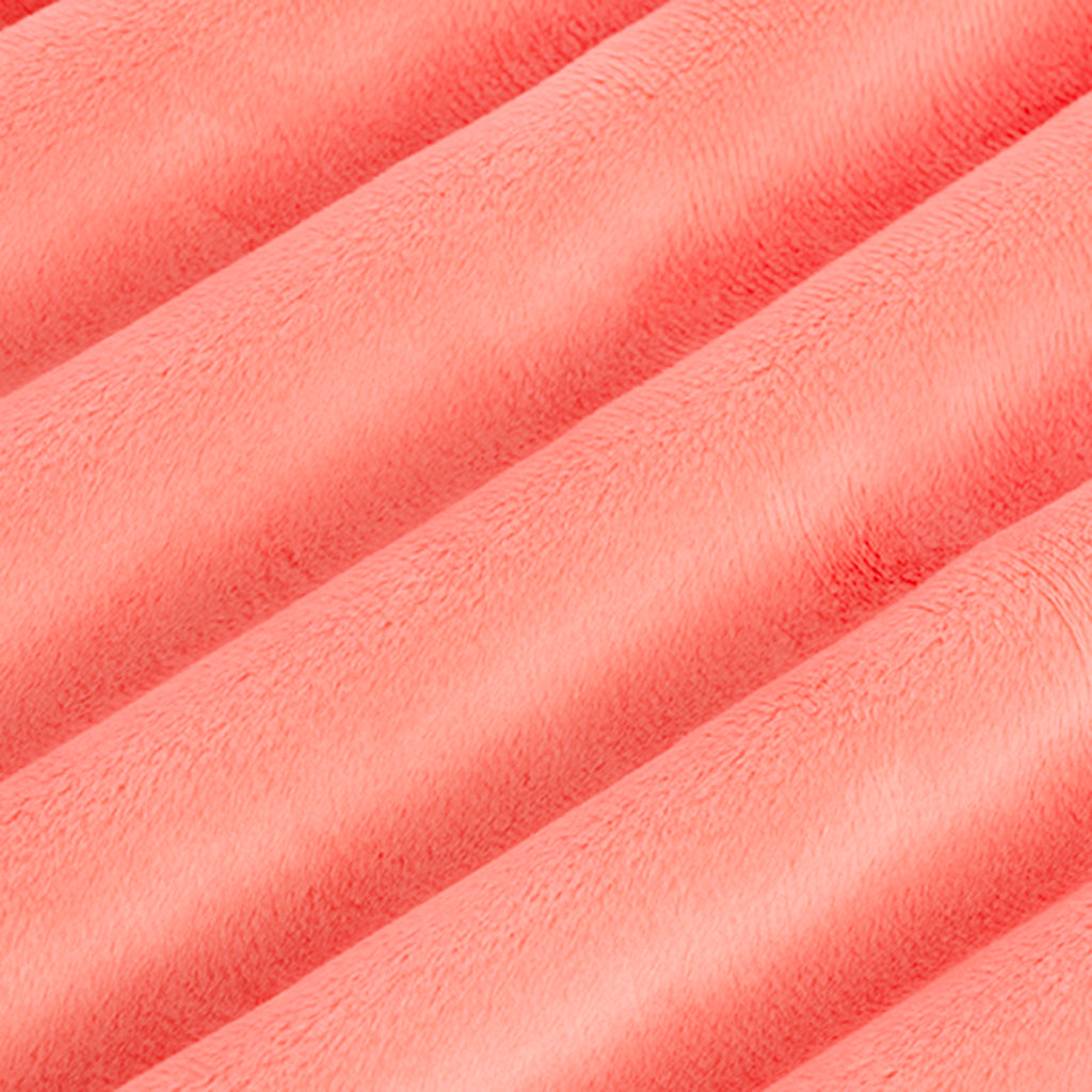 "Coral - 90"" Minky Cuddle Fabric"