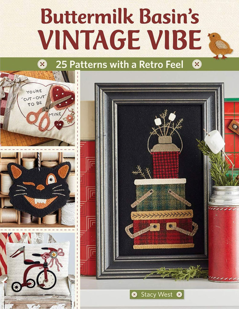 Vintage Vibes Book by Buttermilk Basin