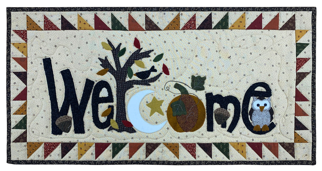 Fall Weclome Quilt Kit