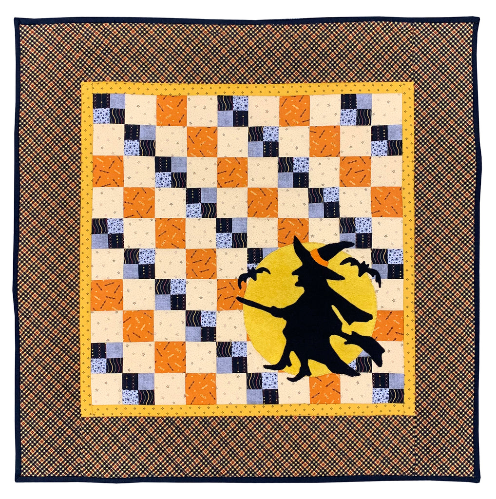 The Witch & the Golden Moon Quilt Kit