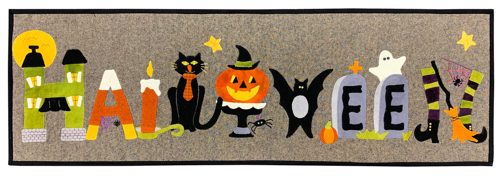 Haunted Halloween Woolen Mat Kit