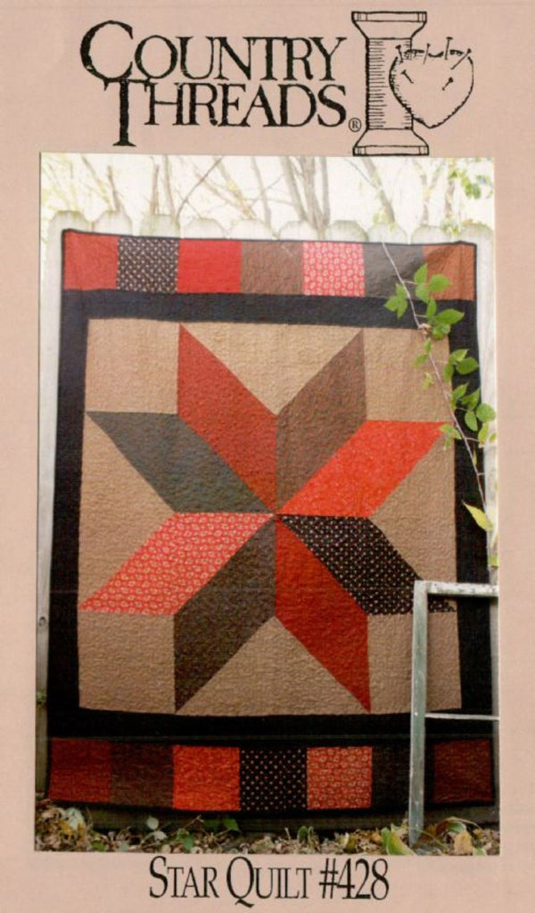 Big Star Quilt Pattern