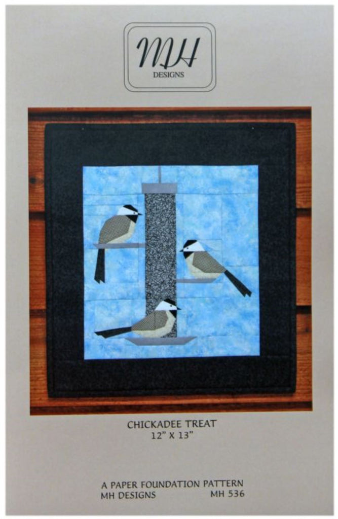 Chickadee Treat Mini Quilt Pattern