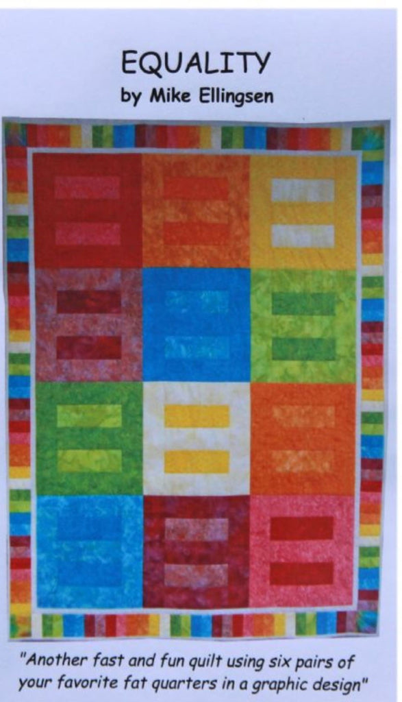Equality Quilt Pattern