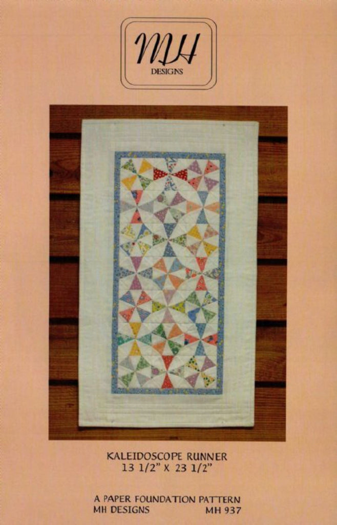 """Kaleidoscope"" Table Runner Pattern"