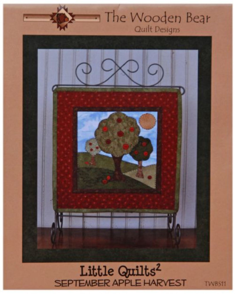 Apple Harvest Little Quilts Squared Mini Quilt Pattern