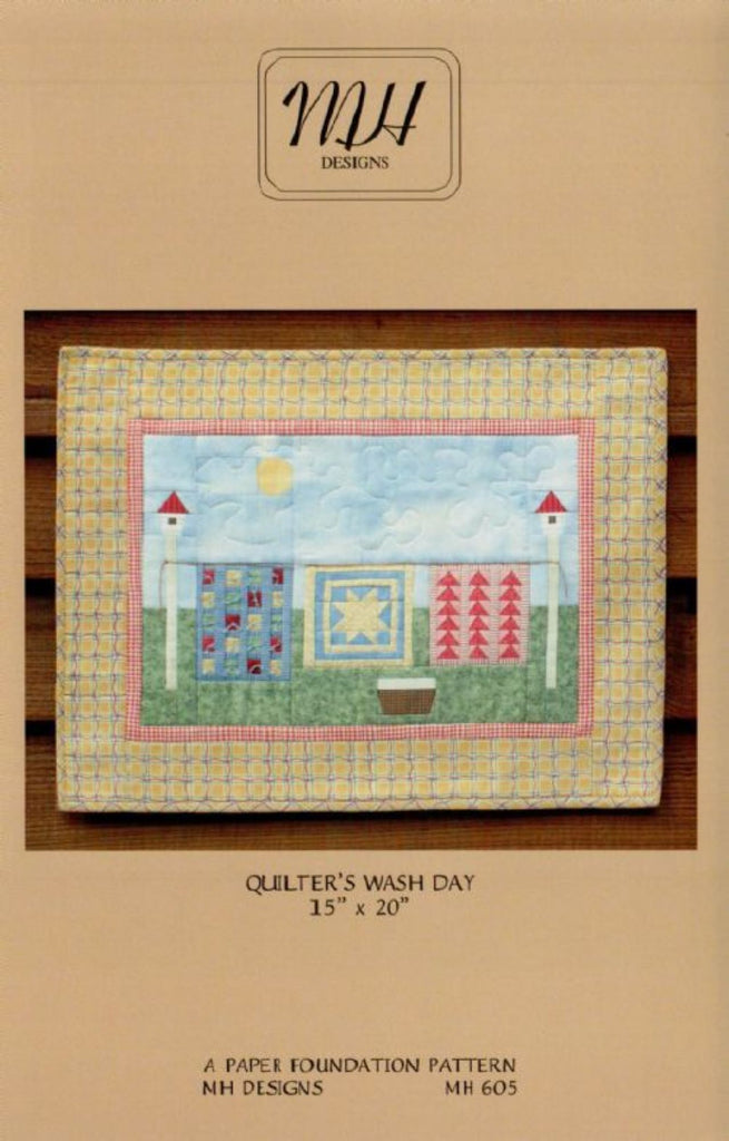 Quilter's Wash Day Pattern