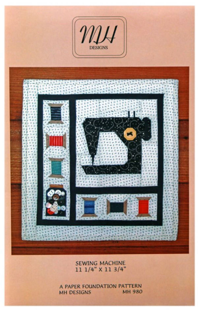 Sewing Machine Mini Quilt Pattern