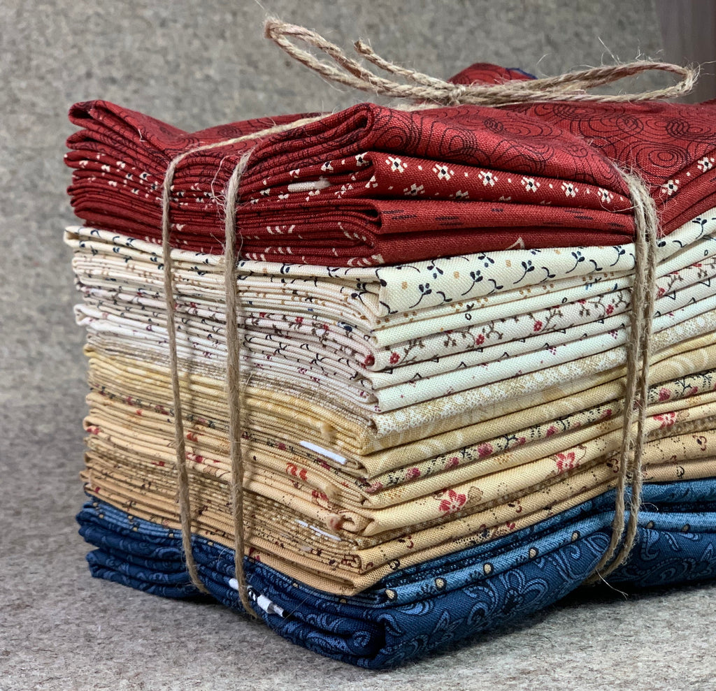 """All Amercian"" Sweetly Stitched Mystery Quilt Kit"