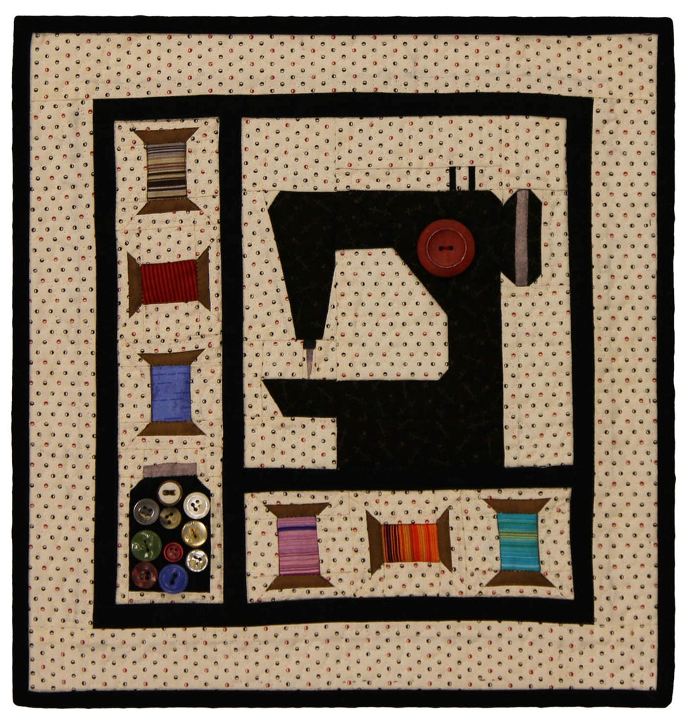 Sewing Machine Mini Quilt Kit