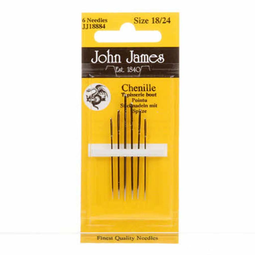 Chenille Needles Assorted Sizes