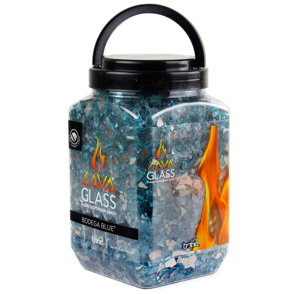 Enhance Your Outdoor Lifestyle This Summer with Bond's LavaGlass Firepit Dispersion Glass