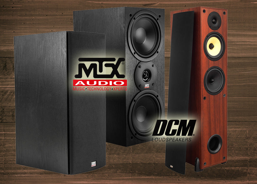 Introducing a large selection of home audio speakers with extreme high quality sound.