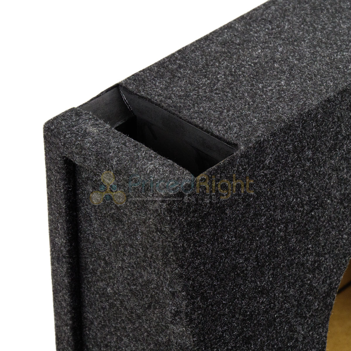 "Atrend 10"" Single Universal Truck Style Vented Subwoofer Enclosure Sub Box 10TKV"