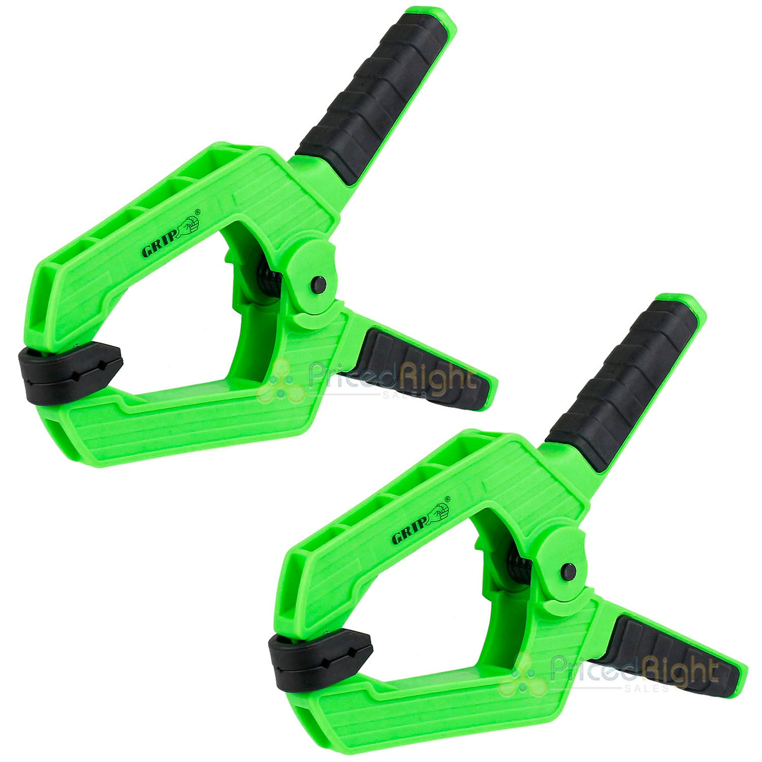"2 Pack Heavy Duty 9"" Spring Clamp Thermoplastic Anti-Slip Grip Tools 34009"