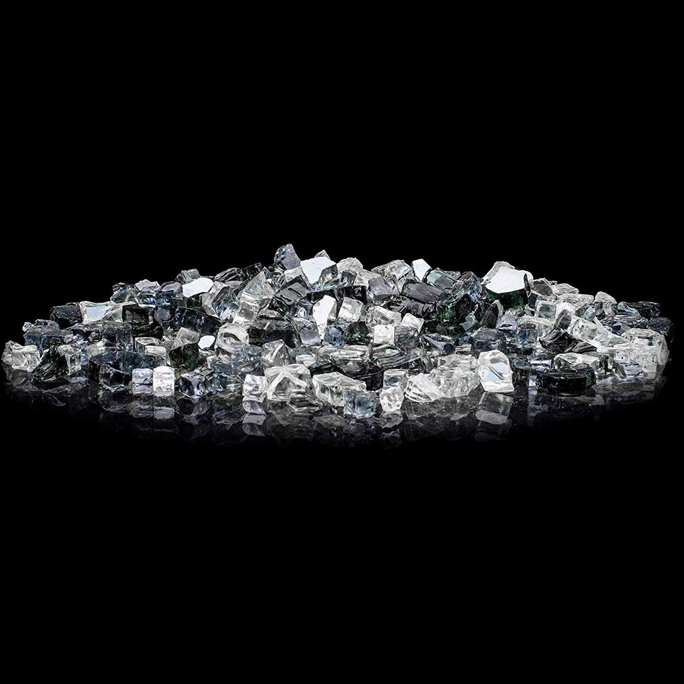 20lbs Midnight Sky Classic LavaGlass Firepit Dispersion Glass Gas Fireplace