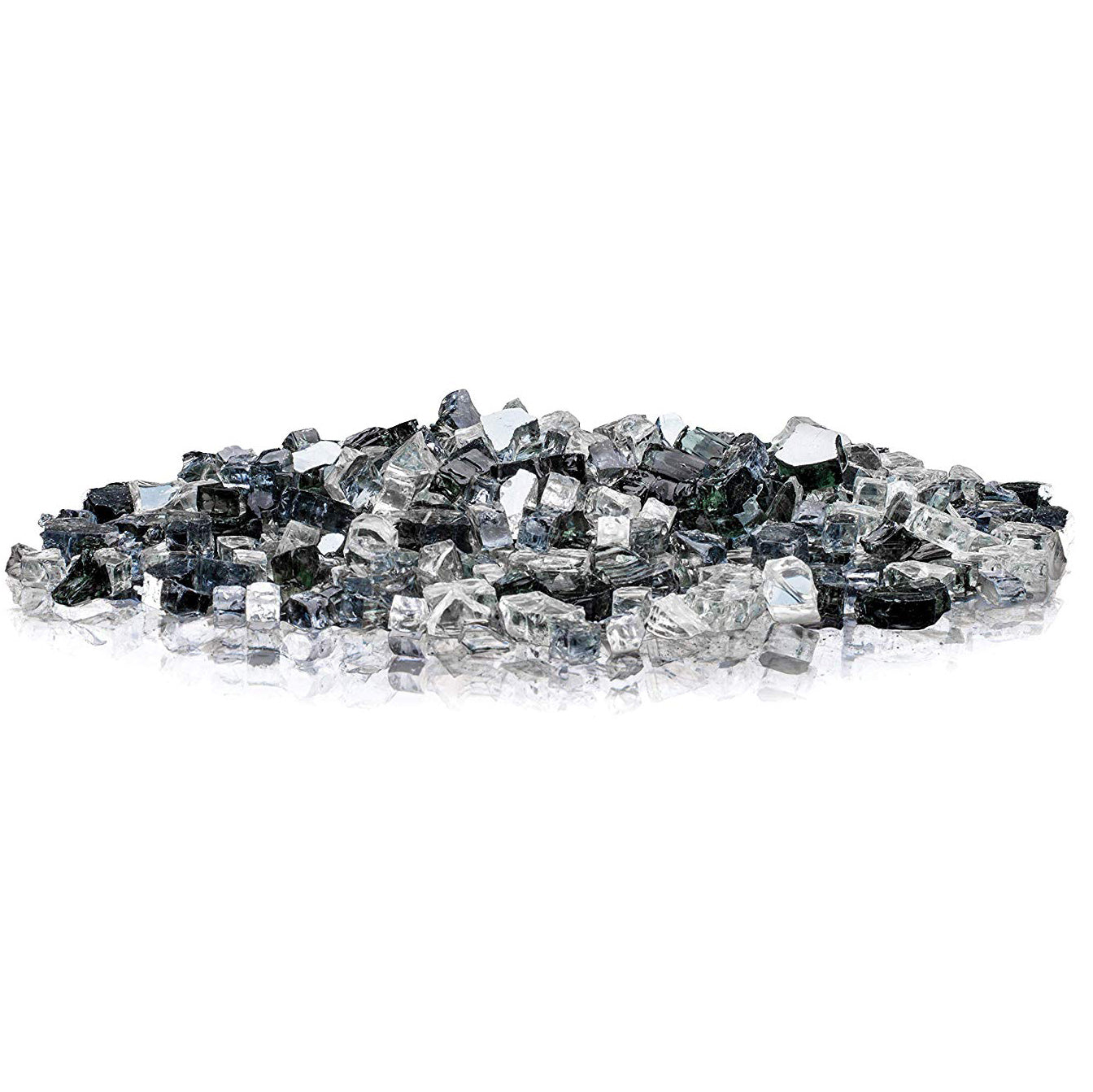 Midnight Sky Classic Cut LavaGlass Firepit Fireplace Dispersion Glass 10 lbs