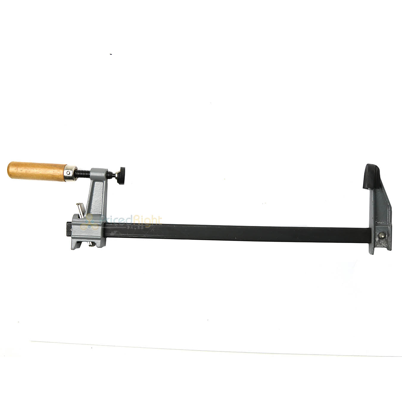 "12"" Adjustable Bar Clamp Quick Release Sliding Jaw Wooden Screw Handle Pro-Grade"