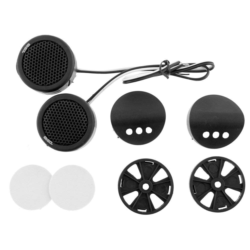 "DS18 TWPZ 1"" Inch Mirco Dome Tweeters 4 Ohms 80 Watts Max Built In Crossover"
