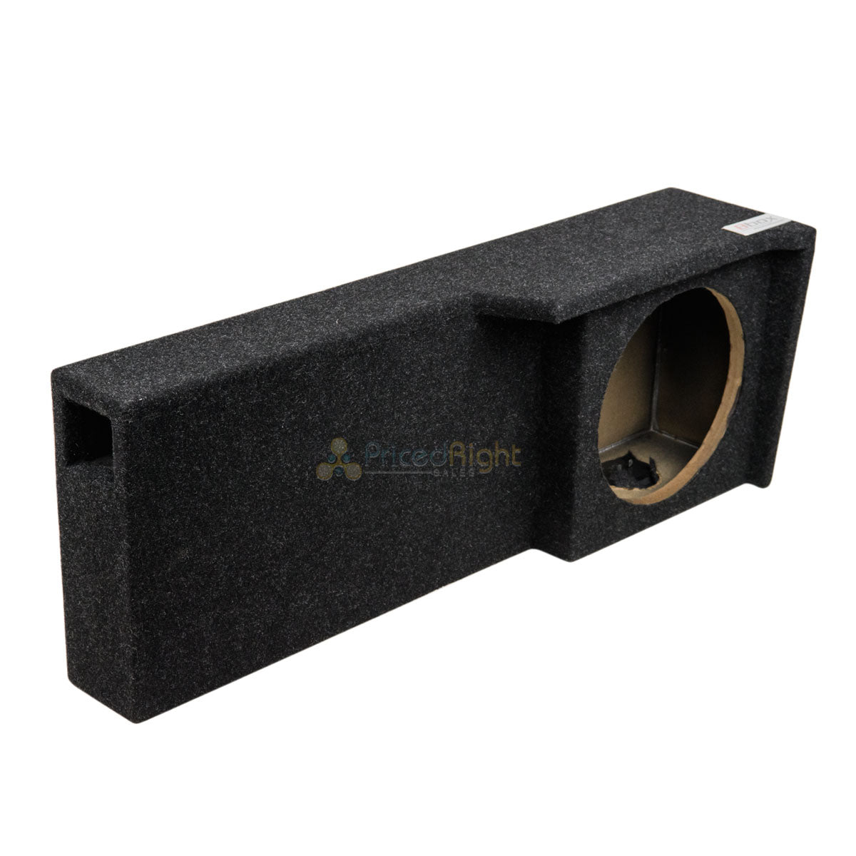 "Single 10"" Sub Enclosure Box Vented 04-08 Ford F150 Super Crew/Extended Cab"