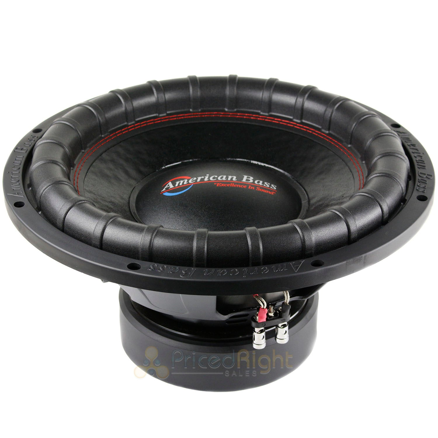 "4 Pack American Bass 15"" Subwoofer 1200W RMS Power DVC 4 Ohm Elite 1544 Series"