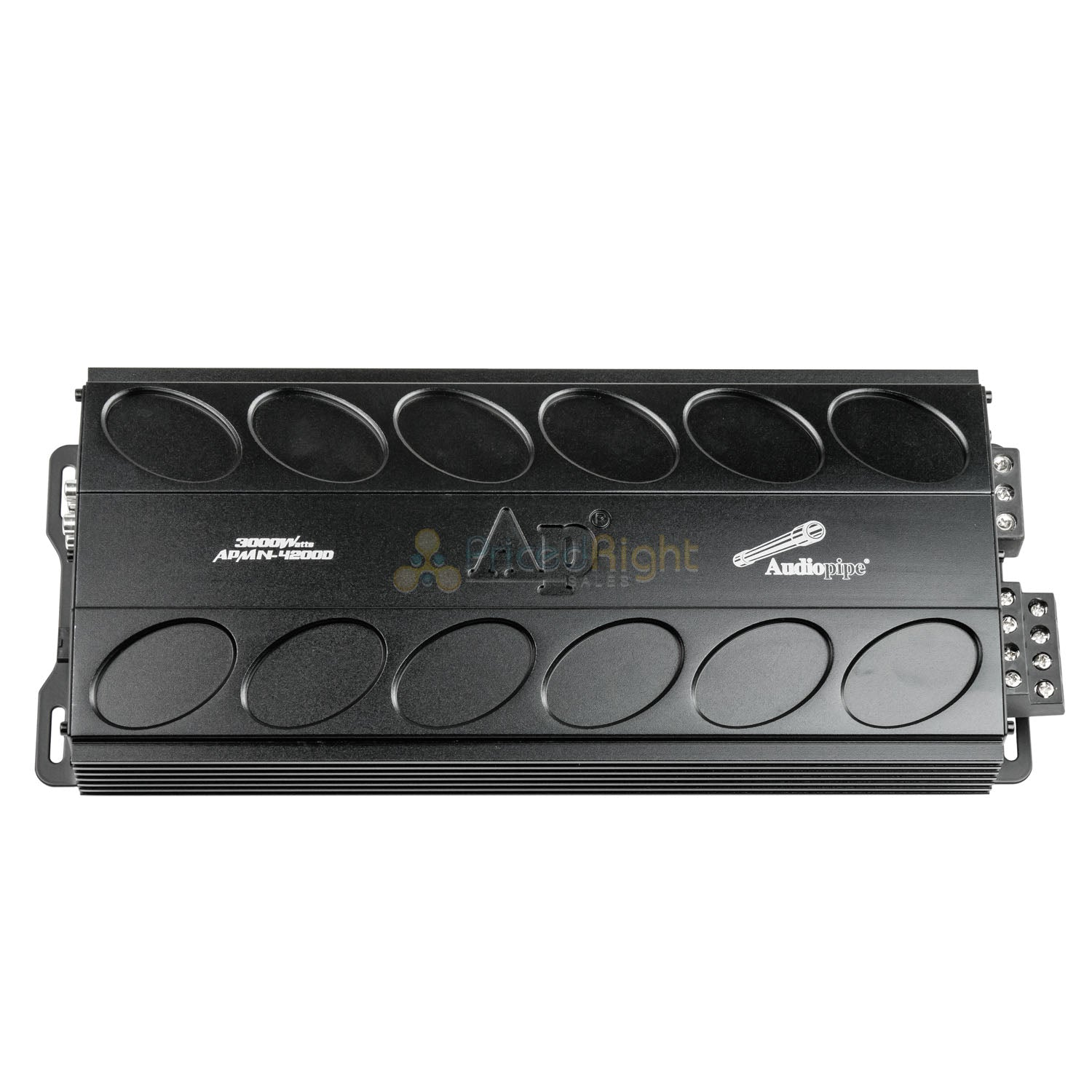 4 Channel Amplifier 3000W Class D Amp Mini Design Car Audio Audiopipe APMN-4200