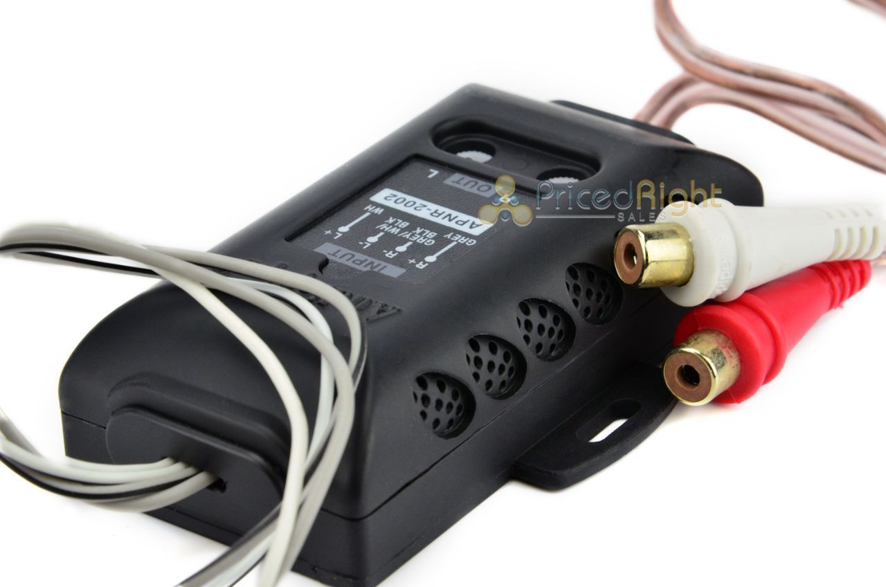 AUDIOPIPE APNR-2002 Hi / Low Impedance Adapter Car Audio Line Output Converter