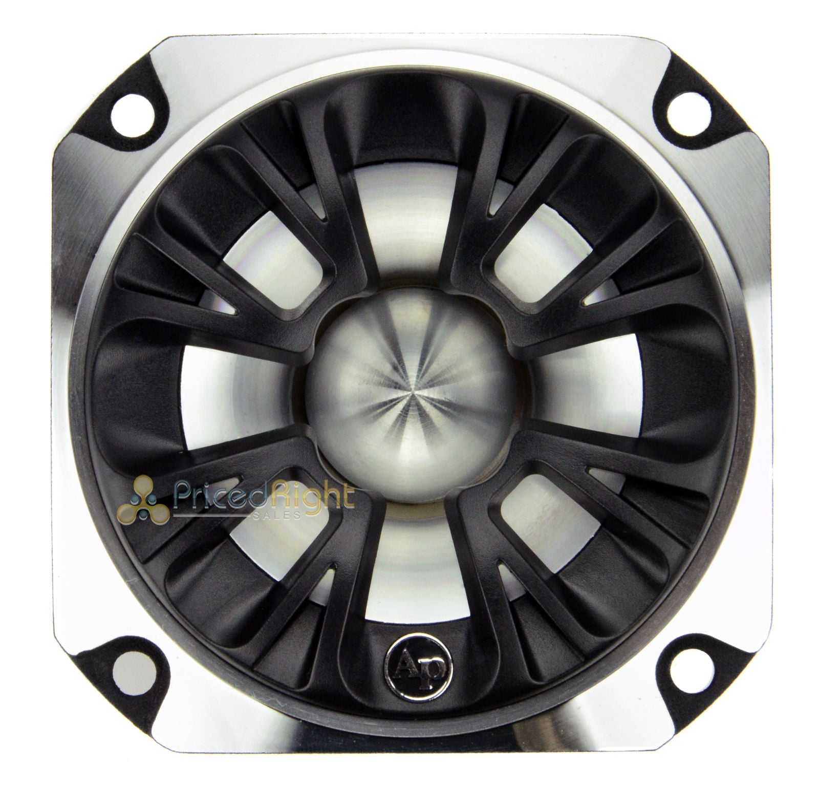 "2 Pack Audiopipe 3"" Super Tweeter 350 Watts Max Heavy Duty Die Cast ATR-3233C"