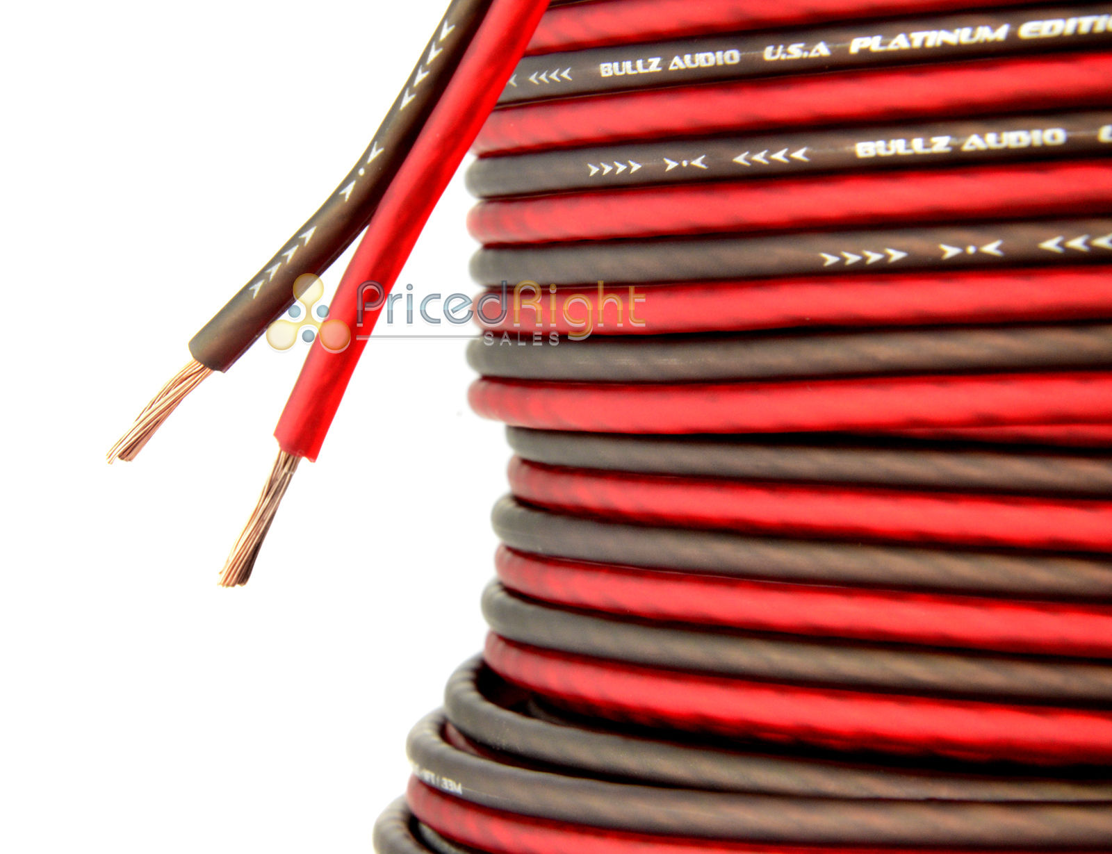 5 Ft 14 Gauge Professional Gauge Speaker Wire / Cable Car Home Audio AWG